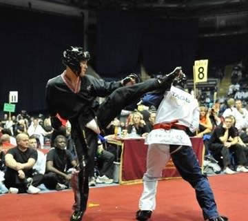 New Forest Taekwondo Adults Sparring
