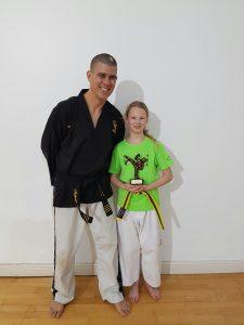 Taekwondo School Sway Star Student