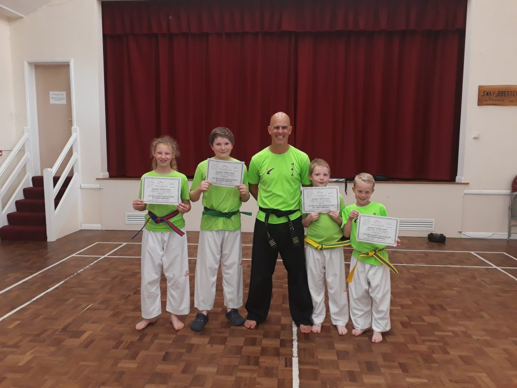 New Forest Taekwondo Grading